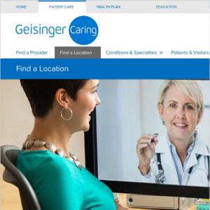 Geisinger's Digital Front Door